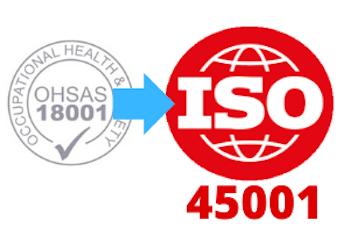 Consulenza Certificazione Sicurezza da OHSAS 18001 a iso 45001