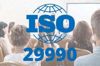 Certificazione formazione non formale ISO 29990