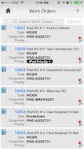software di gestione manutenzioni su smartphone