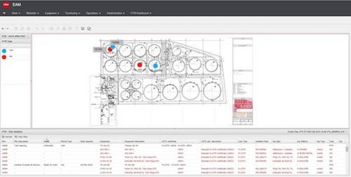 Software gestione manutenzioni industria disegni cad integrati